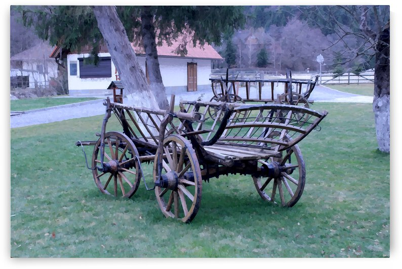 Cart Wagon Wheels Version 2 by Nisuris Art