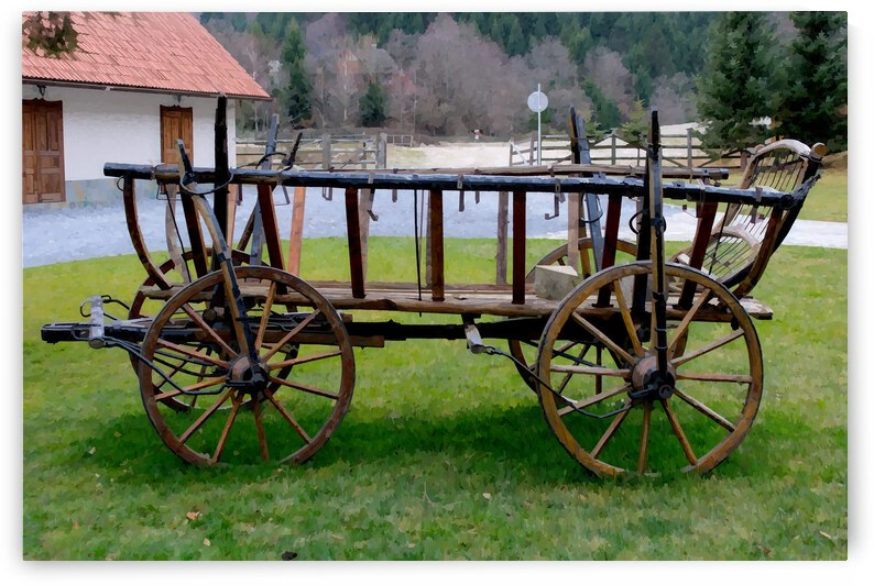 Cart Wagon Wheels Version 1 by Nisuris Art