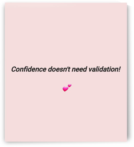 No Validation Needed by Spilling Emotions