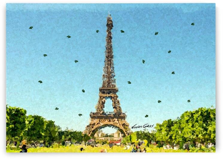 Eiffel Tower by Nicholas Crowley