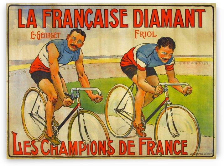 La Francaise Diamant Original Poster by VINTAGE POSTER