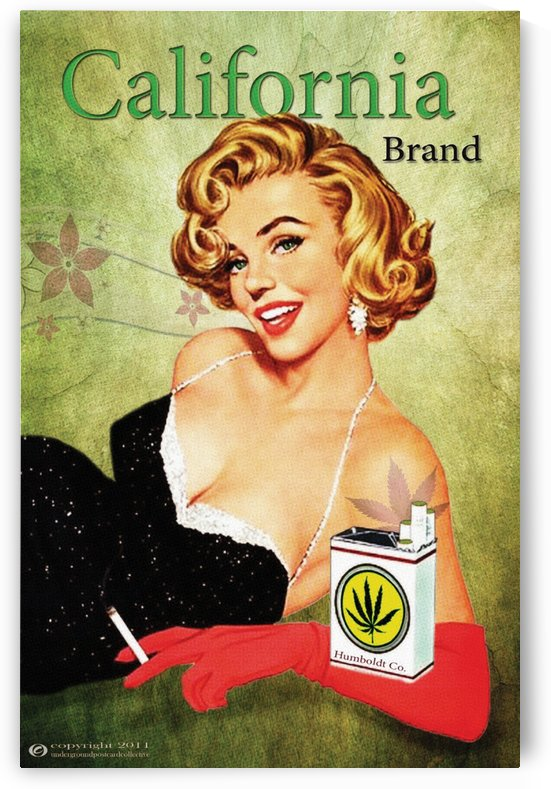 Poster California Brand Glove by VINTAGE POSTER