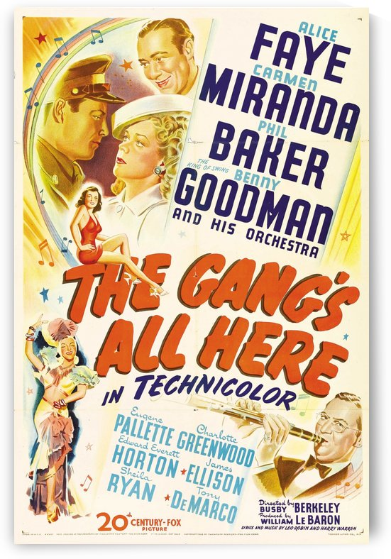 The Gangs All Here by VINTAGE POSTER