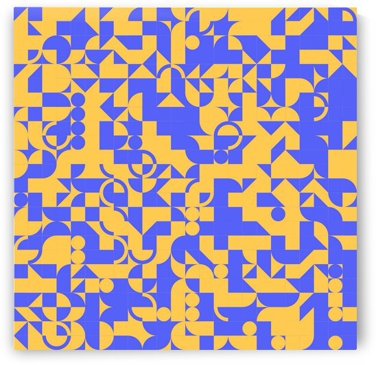 Navy Blue Geometric by rizu_designs