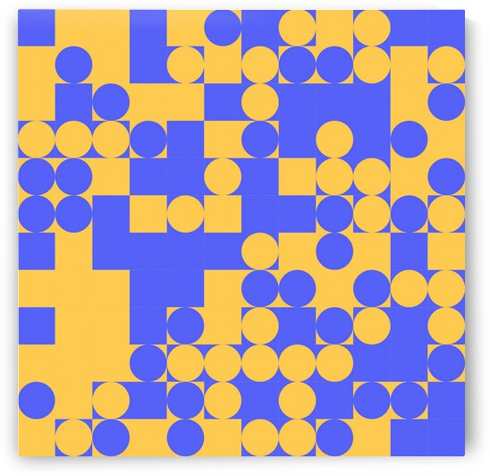 Dots and Square Pattern by rizu_designs