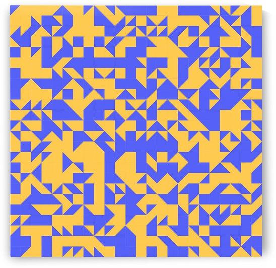 Modern Geometry Pattern by rizu_designs