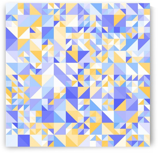Triangle Mid Dots Pattern by rizu_designs