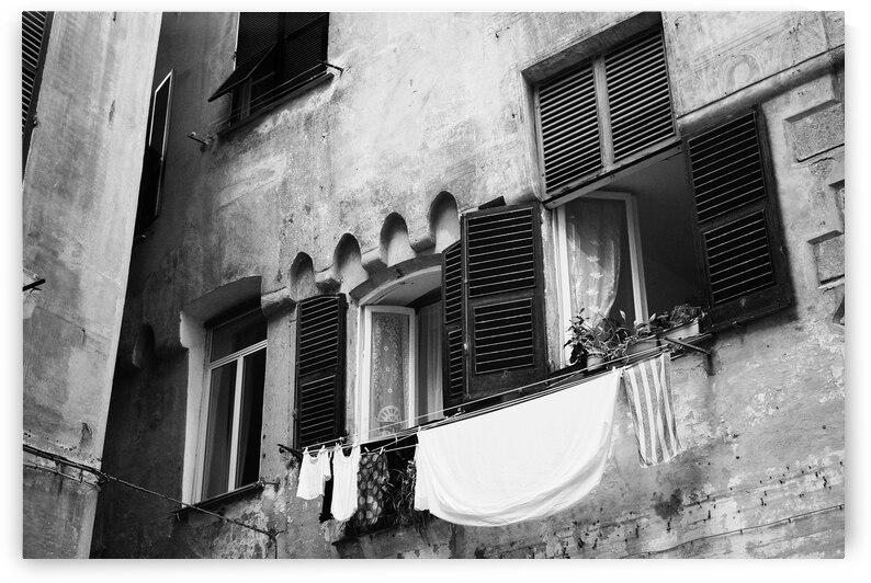 Genoa in black and white  by Giulio Bardelli