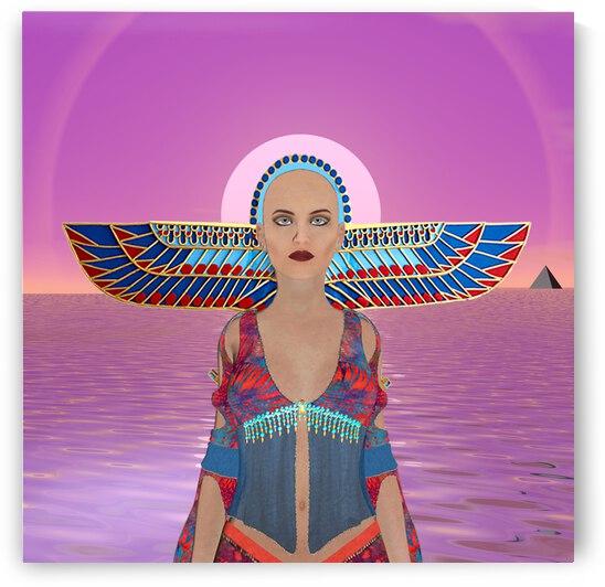 Egyptian Goddess by Matthew Lacey