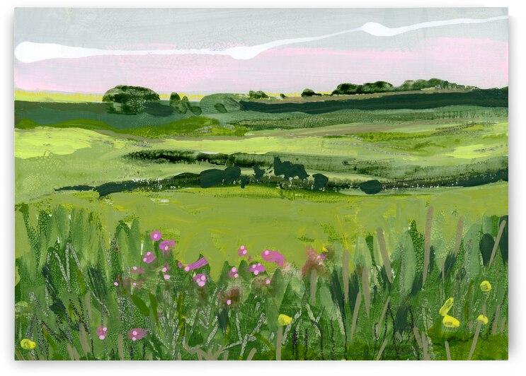 July Dawn II by JLMohr Art
