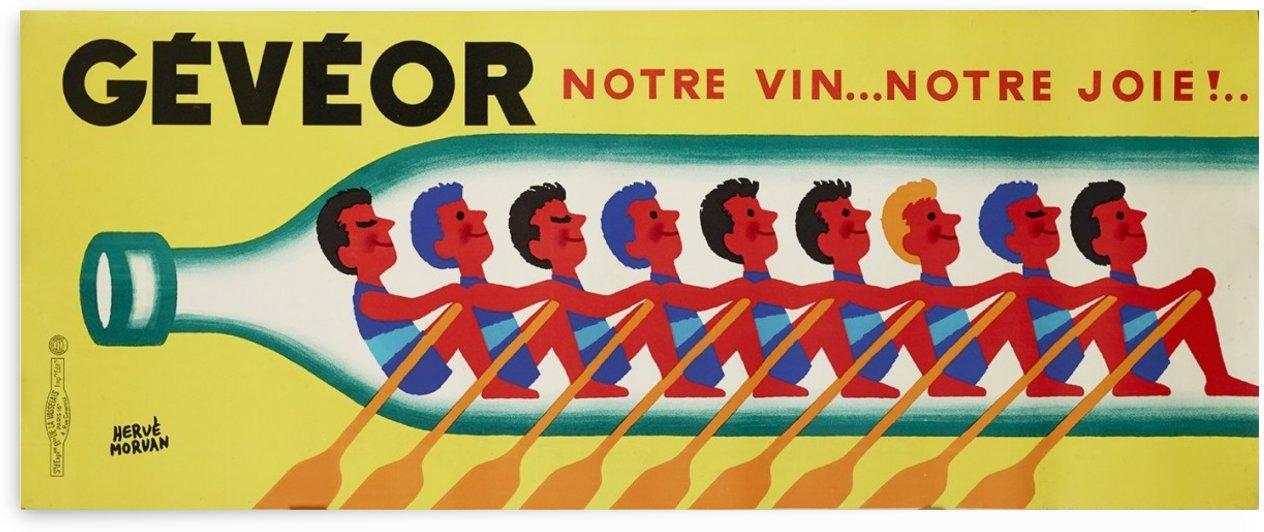 Geveor Morvan Herve Poster Vintage by VINTAGE POSTER
