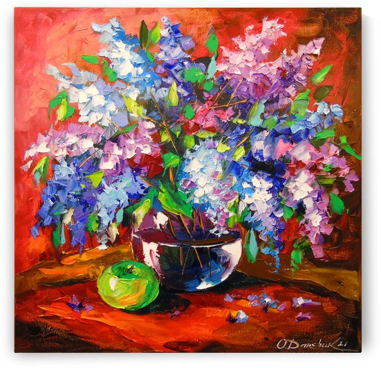 Bouquet of spring lilac  by Olha Darchuk