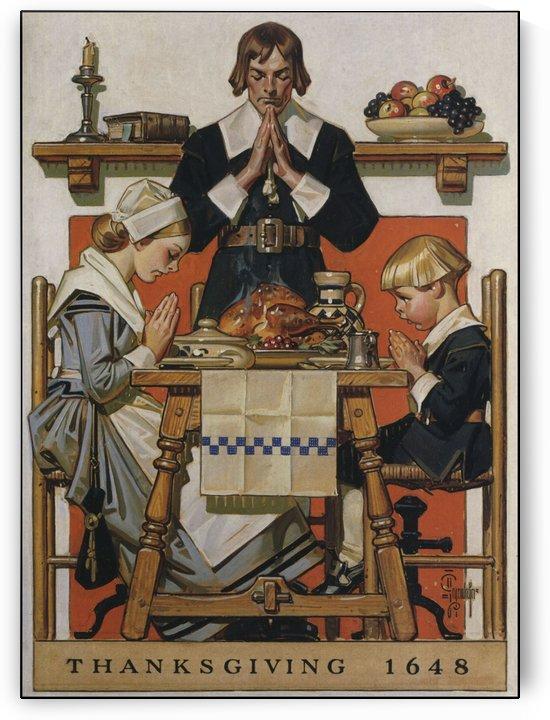 Thanksgiving Original Poster by VINTAGE POSTER
