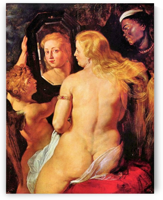 Toilette of Venus by Rubens by Rubens