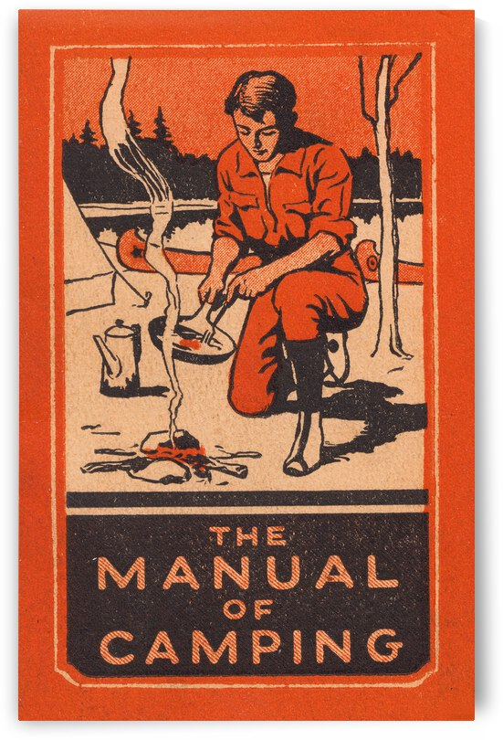 1934 Manual of Camping by Row One Brand
