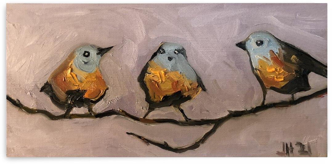 3 Birds  by J HARRIS