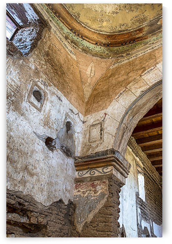 Mission at Tumacacori  by Charnesky Photography