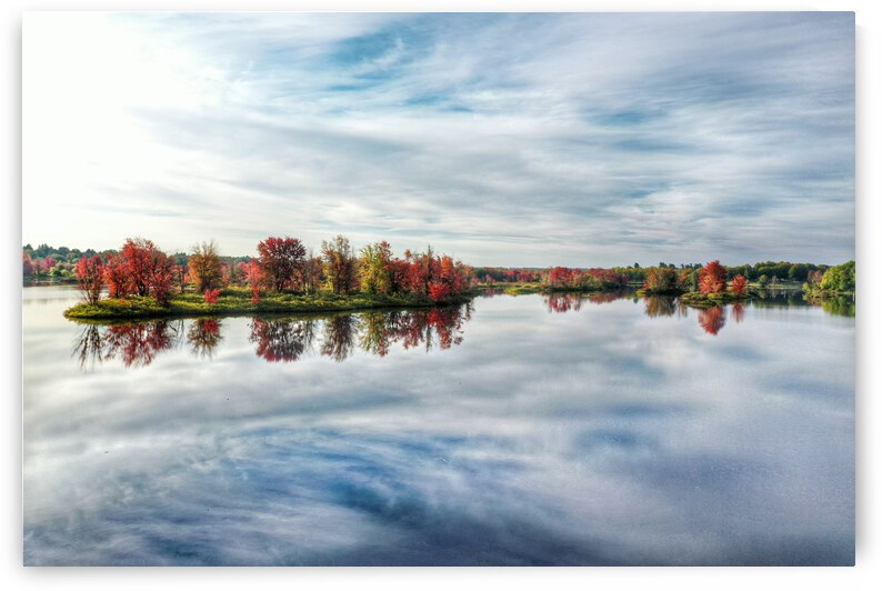 Racquette River in Potsdam NY by Jerrid Lavoie