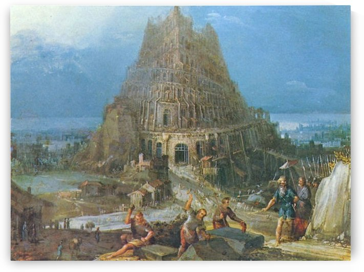 Tower of Babel -2- by Pieter Bruegel by Pieter Bruegel