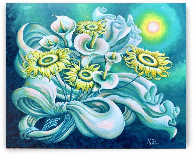 Le printemps by Annie Pelletier