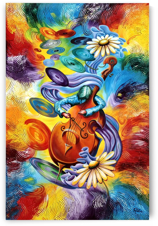 Beautiful music in my head by Annie Pelletier