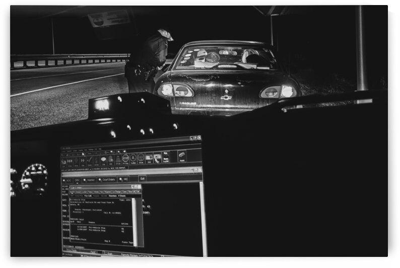 Late Night Traffic Stop 2 by Bob Orsillo