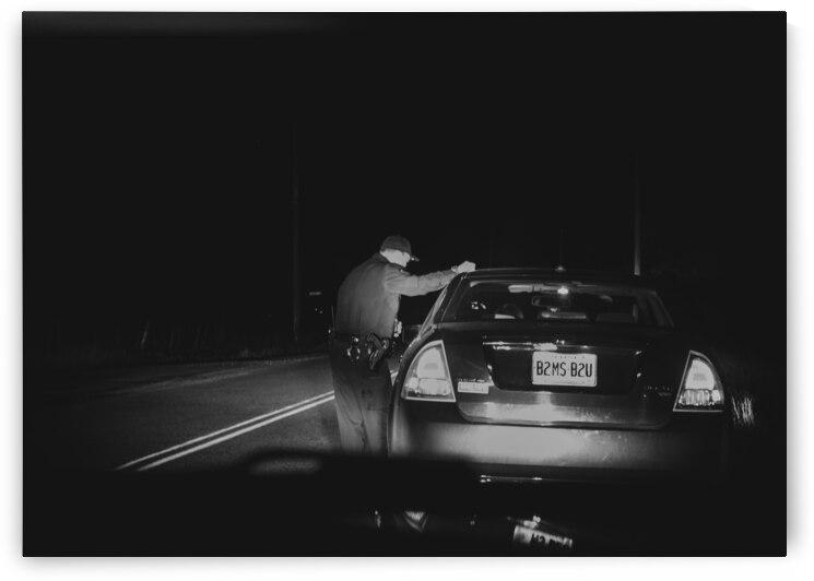 Late Night Traffic Stop by Bob Orsillo