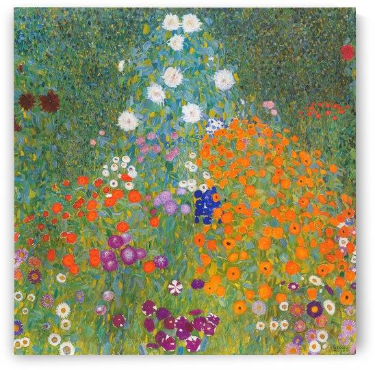 Klimt Cottage Garden 1905 by TOPARTGALLERY