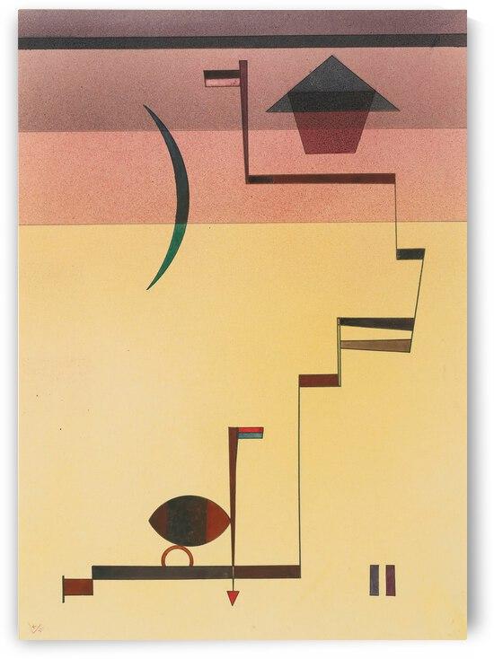 Kandinsky Eckig 1931 Angular by TOPARTGALLERY