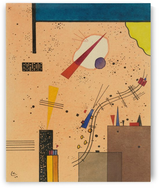 Kandinsky Spritze 1924 spray by TOPARTGALLERY
