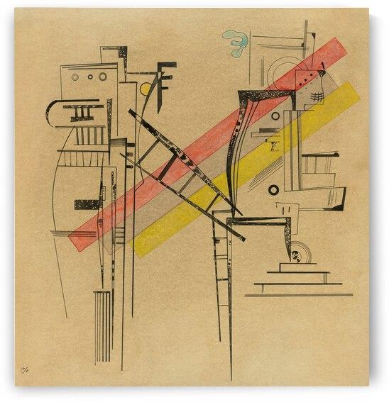 Kandinsky Transmission 1935 by TOPARTGALLERY