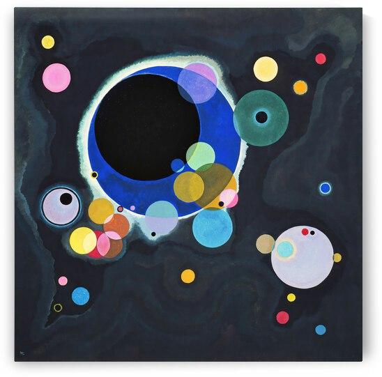 Kandinsky Several Circles 1926 by TOPARTGALLERY