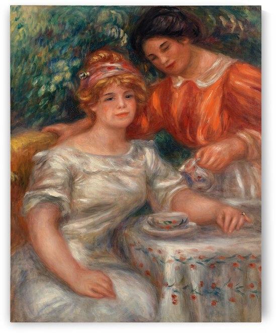 Pierre Auguste Renoir Tea Time 1911 by TOPARTGALLERY