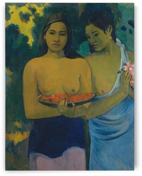 Paul Gauguin Two Young Tahitian Women  1899  by TOPARTGALLERY
