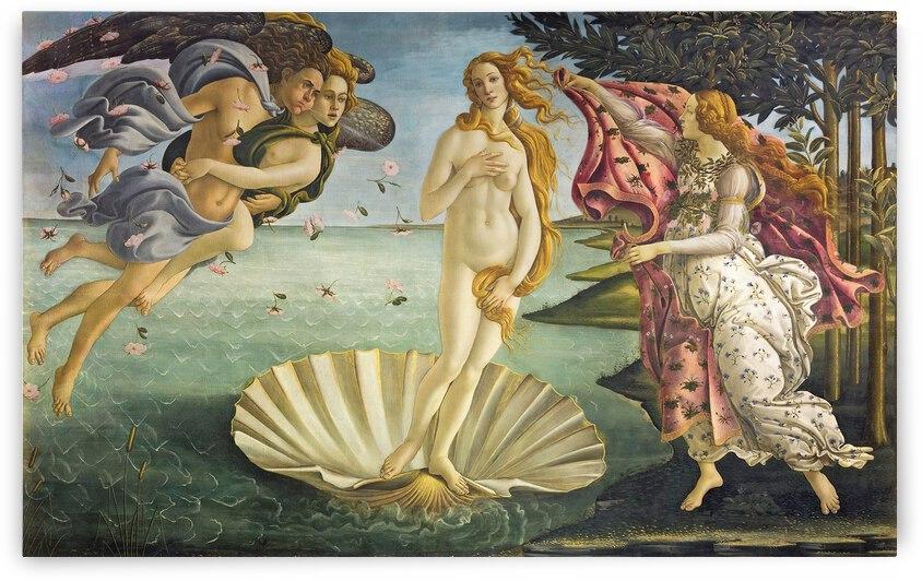 Sandro Botticelli Birth Of Venus  1485  by TOPARTGALLERY