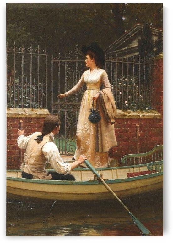 Edmund Blair Leighton The Elopement  1893  by TOPARTGALLERY