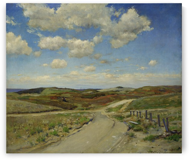 William Merritt Chase Shinnecock Hills  ca. 1895  by TOPARTGALLERY