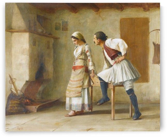 Theodoros Ralli Flirtation by TOPARTGALLERY