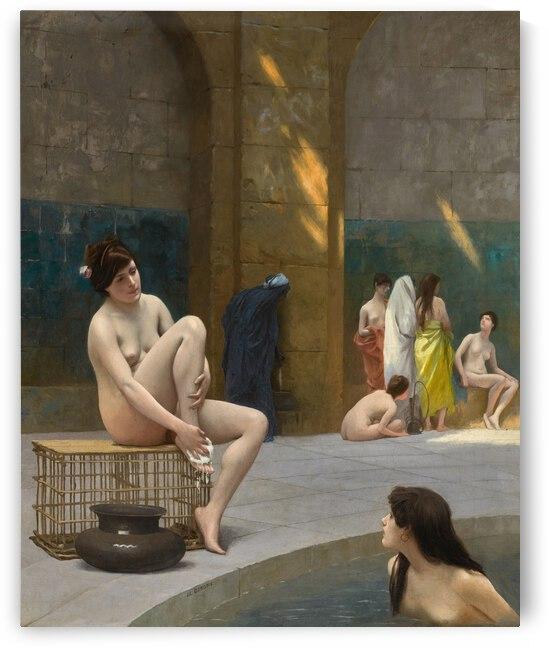 Jean Leon Gerome Femmes Au Bain 1885 by TOPARTGALLERY