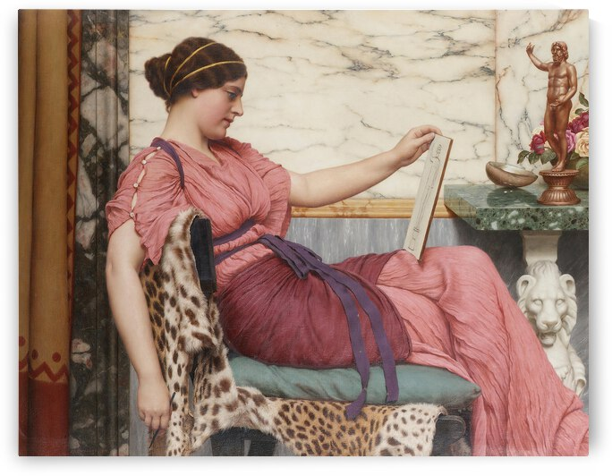 John William Godward An Amateur  1915  by TOPARTGALLERY