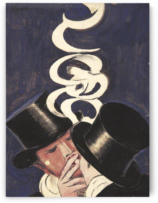 Deux Fumeurs maquette by VINTAGE POSTER