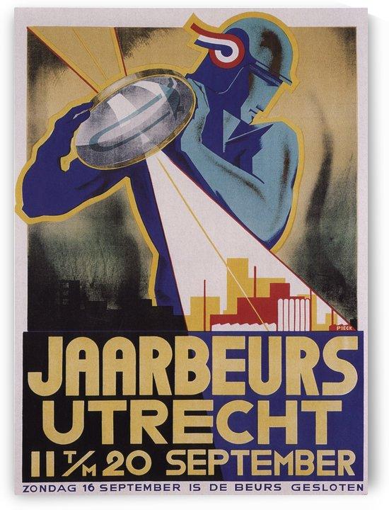 Jaarberus Utrecht by VINTAGE POSTER