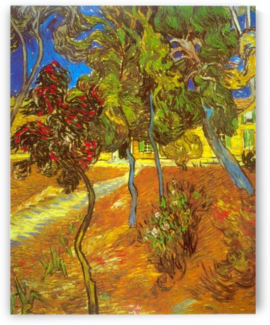 Trees by Van Gogh by Van Gogh