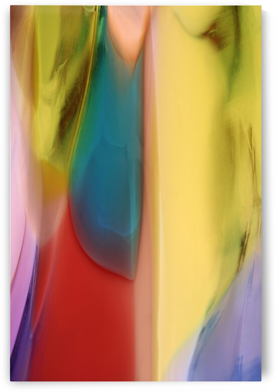 Vertical Abstract 10009 by Nathan Sullum