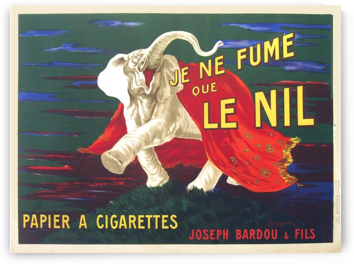 Je Ne Fume Que Le Nil by VINTAGE POSTER