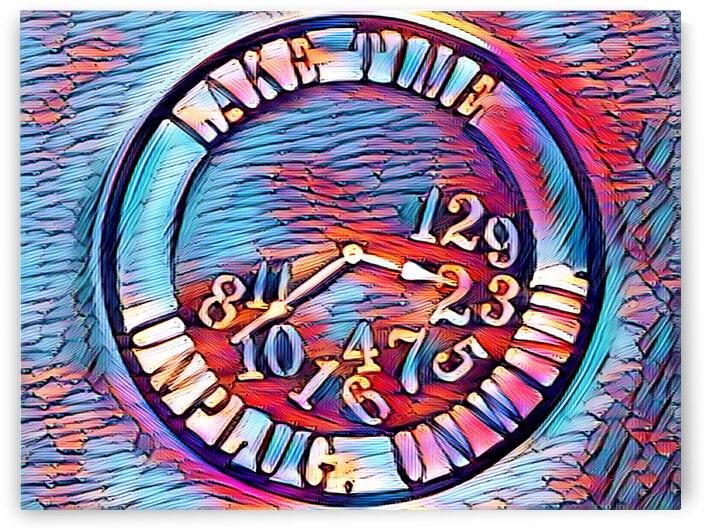 Clock III by Flodor