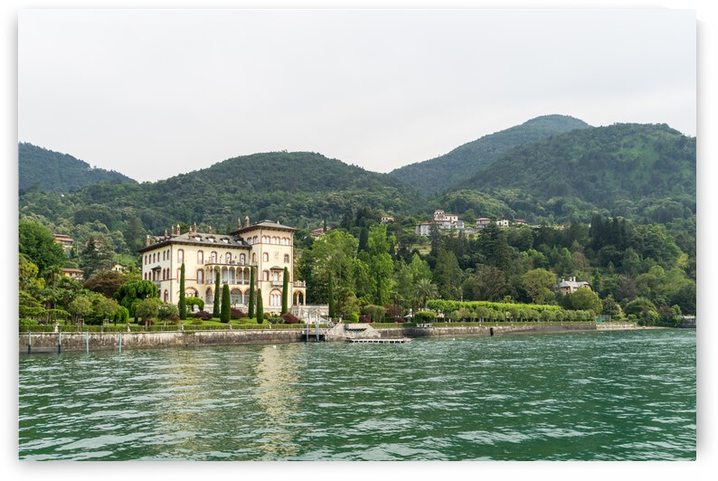 Sailing Around Famous Bellagio on Lake Como Italy - Opulent Villas and Gardens by GeorgiaM