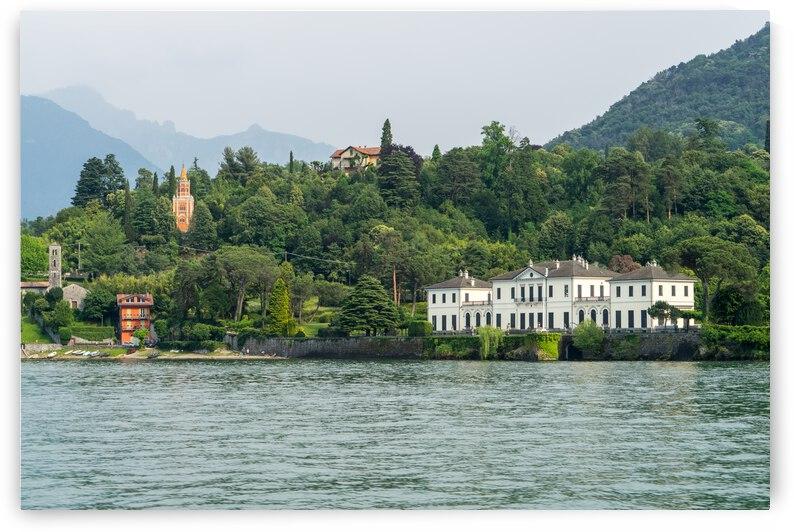 Sailing Around Famous Bellagio on Lake Como Italy - Splendiferous Villas and Towers by GeorgiaM