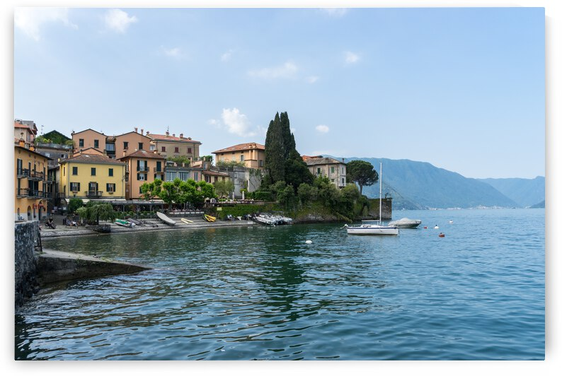 Charismatic Varenna Lake Como Italy - Picture Perfect Little Harbour by GeorgiaM