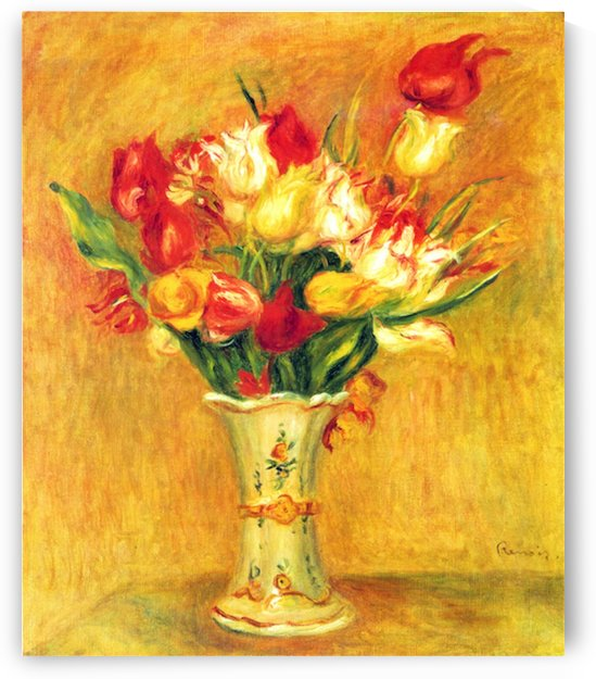 Tulips in a Vase by